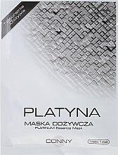 Düfte, Parfümerie und Kosmetik Feuchtigkeitsspendende und nährende Gesichtsmaske mit Platin - Conny Platinum Essence Mask
