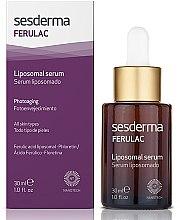 Düfte, Parfümerie und Kosmetik Liposomales Gesichtsserum mit Ferulasäure - SesDerma Laboratories Ferulac Serum
