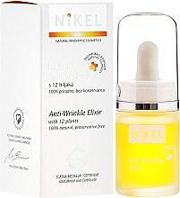 Düfte, Parfümerie und Kosmetik Antifalten-Elixier aus 12 Pflanzen - Nikel Intensive Care Eliksir