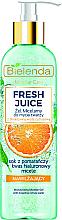 Düfte, Parfümerie und Kosmetik Mizellen-Gesichtswaschgel mit Orange - Bielenda Fresh Juice Micellar Gel Orange