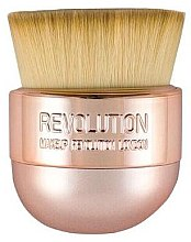 Make-up Pinsel - Makeup Revolution Oval Precision Kabuki Brush — Bild N1