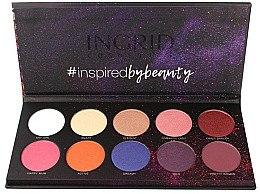 Düfte, Parfümerie und Kosmetik Lidschattenpalette - Ingrid Cosmetics Colors Matt & Glam Palette