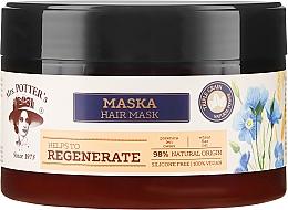Düfte, Parfümerie und Kosmetik Regenerierende Haarmaske mit Weizen, Flachs und Hafer - Mrs. Potter's Triple Grain Regenerate