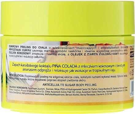 Zucker-Körperpeeling Pina Colada - Perfecta Spa Pina Colada Body Peeling — Bild N3