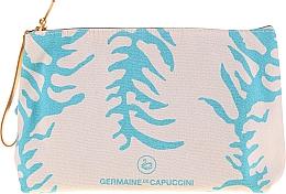 Düfte, Parfümerie und Kosmetik Körperpflegeset - Germaine de Capuccini Golden Caresse (Sonnenemulsion 50ml + After-Sun-Balsam 50ml + Kosmetiktasche)