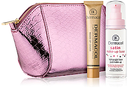 Düfte, Parfümerie und Kosmetik Gesichtspflegeset (Foundation 30g + Grundierung 30ml + Kosmetiktasche) - Dermacol