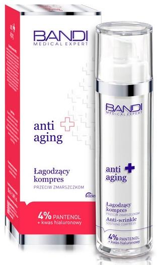 Beruhigende Anti-Aging und Anti-Falten Gesichtscreme-Kompresse - Bandi Medical Expert Anti Aging Anti-Wrinkle Soothing Compress — Bild N1