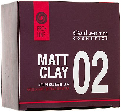 Mattierende Tonerde für das Haar Mittlerer Halt - Salerm Pro Line Matt Clay — Bild N3