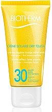 Düfte, Parfümerie und Kosmetik Sonnenschutzcreme für das Gesicht - Biotherm Sun Protection Creme Solaire Dry Touch SPF 30