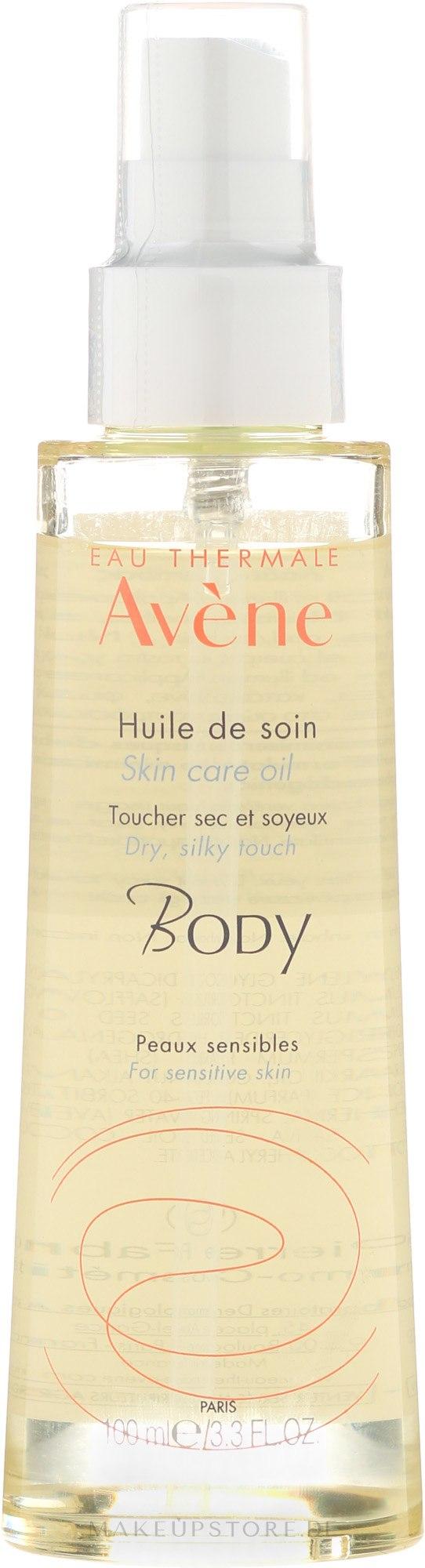 Trockenes pflegendes Öl-Spray für Körper, Gesicht und Haar - Avene Soin Corporels Huile de Soin Spray Gevoelige Huid — Bild 100 ml
