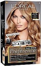Düfte, Parfümerie und Kosmetik Higlights für natürliche, gemischte, goldene Reflexen - L'Oreal Paris Preference Glam Bronde