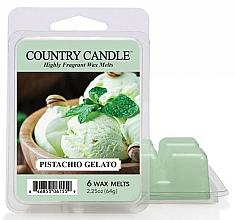 Düfte, Parfümerie und Kosmetik Tart-Duftwax Pistachio Gelato - Country Candle Pistachio Gelato Wax Melts