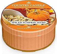 Düfte, Parfümerie und Kosmetik Duftkerze Spiced Pumpkin Seeds - Country Candle Spiced Pumpkin Seeds Daylight