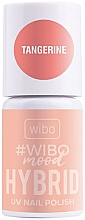 Düfte, Parfümerie und Kosmetik Hybrid-Nagellack - Wibo Mood Hybrid UV Nail Polish