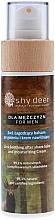 Düfte, Parfümerie und Kosmetik 2in1 Beruhigender After Shave Balsam und feuchtigkeitsspendende Creme für Männer - Shy Deer For Men 2in1 Sothing After Shave Balm And Moisturizing Cream