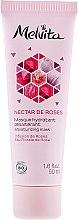 Düfte, Parfümerie und Kosmetik Feuchtigkeitsspendende Gesichtsmaske mit Rose - Melvita Nectar De Rose Moisturizing Mask