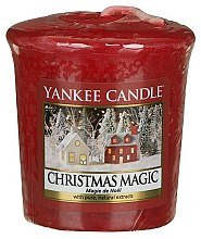 Düfte, Parfümerie und Kosmetik Votivkerze Christmas Magic - Yankee Candle Christmas Magic Sampler Votive
