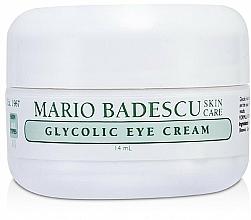 Düfte, Parfümerie und Kosmetik Augencreme mit Glykolsäure - Mario Badescu Glycolic Eye Cream