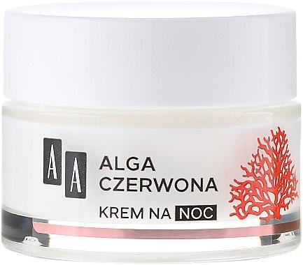 Straffende und feuchtigkeitsspendende Nachtcreme mit Rotalgen - AA Moc Energy Cream 40+ — Bild N2