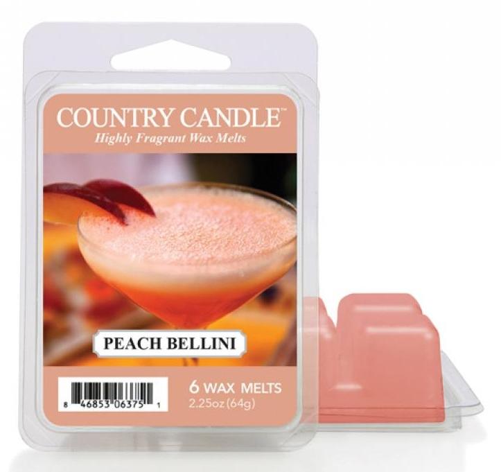 Tart-Duftwachs Peach Bellini - Country Candle Peach Bellini Mini Wax Melts — Bild N1