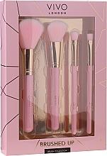Düfte, Parfümerie und Kosmetik Make-up Pinselset - Vivo London Brushed Up