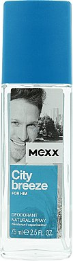 Mexx City Breeze For Him - Parfümiertes Körperspray — Bild N1