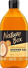 Düfte, Parfümerie und Kosmetik Nährendes Duschgel mit kaltgepresstem Arganöl - Nature Box Nourishment Shower Gel With Cold Pressed Argan Oil