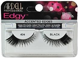 Düfte, Parfümerie und Kosmetik Künstliche Wimpern - Ardell Edgy Lash 404 Black