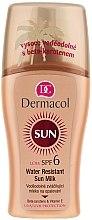 Düfte, Parfümerie und Kosmetik Wasserfeste Sonnenschutzmilch SPF 6 - Dermacol Water Resistant Sun Milk SPF 6