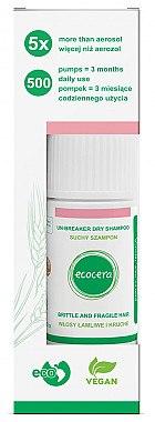 Trockenshampoo für sprödes und dünnes Haar - Ecocera Un-Breaker Dry Shampoo — Bild N1