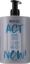 Düfte, Parfümerie und Kosmetik Feuchtigkeitsspendendes Shampoo für trockenes Haar - Indola Act Now! Moisture Shampoo