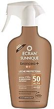 Düfte, Parfümerie und Kosmetik Sonnenschutzspray-Lotion mit Bronzer SPF 50 - Ecran Sunnique Broncea+ Lotion Spf50