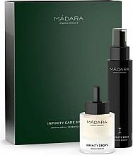 Gesichtspflegeset - Madara Cosmetics Infinity Care System (Feuchtigkeitsspendender probiotischer Toner für das Gesicht 100ml + Gesichtsserum 30ml) — Bild N2