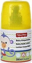 Düfte, Parfümerie und Kosmetik Babylotion mit Kamille, Aloe Vera und Vitamin E - Fisher-Price Baby Body Lotion