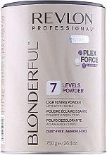 Düfte, Parfümerie und Kosmetik Aufhellendes Haarpulver bis zu 7 Stufen - Revlon Professional Blonderful 7 Levels Lightening Powder