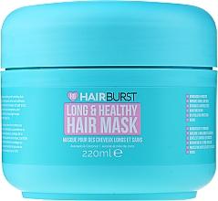 Düfte, Parfümerie und Kosmetik Pflegende Anti-Spliss Haarmaske für lange Haare - Hairburst Long And Healthy Hair Mask