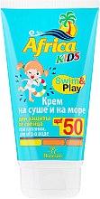 Düfte, Parfümerie und Kosmetik Sonnenschutzcreme für Kinder SPF 50 - Floresan Africa Kids