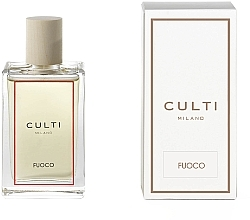 Düfte, Parfümerie und Kosmetik Duftendes Raumspray mit Gewürzen und Patschuli - Culti Milano Room Spray Fuoco