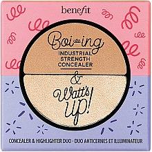 Düfte, Parfümerie und Kosmetik Concealer-Highlighter für das Gesicht - Benefit Cosmetics Boi-ing & Watt's up!
