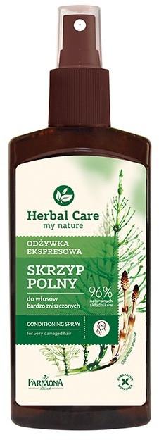 Pflegespray für strapaziertes Haar mit Schachtelhalmextrakt - Farmona Herbal Care Conditioner — Bild N1