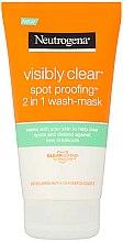 Düfte, Parfümerie und Kosmetik Gesichtsmaske - Neutrogena Visibly Clear Spot Proofing 2-in-1 Wash-Mask |