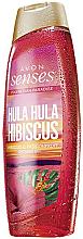 Düfte, Parfümerie und Kosmetik Duschgel mit Hibiskusduft - Avon Senses Hula Hula Hibiscus