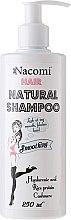 Düfte, Parfümerie und Kosmetik Feuchtigkeitsspendendes glättendes Shampoo - Nacomi Hair Natural Smoothing Shampoo