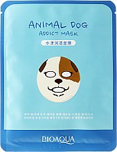 Düfte, Parfümerie und Kosmetik Tuchmaske für das Gesicht - Bioaqua Animal Dog Addict Mask