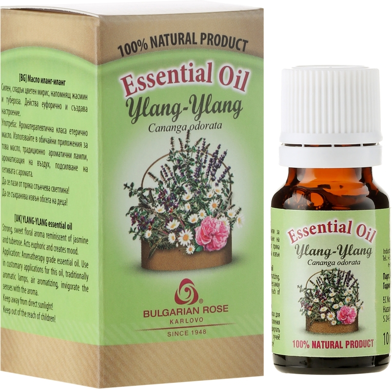 Ätherisches Bio Ylang-Ylang Öl - Bulgarian Rose Ylang Ylang Essential Oil