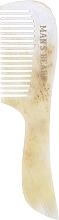 Düfte, Parfümerie und Kosmetik Schnurrbart- und Bartkamm weiß-beige - Man's Beard Moustache And Beard Comb