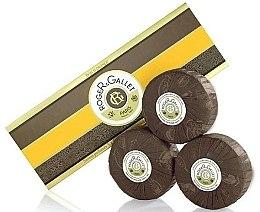 Düfte, Parfümerie und Kosmetik Seifenset Orangenbaum - Roger & Gallet Bois D'Orange Perfumed Soaps (Seife 3x100g)