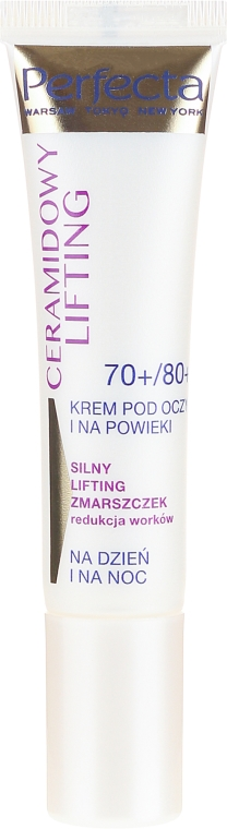 Augenkonturcreme - Perfecta Ceramid Lift 70+/80+ Eye Cream — Bild N2