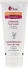 Düfte, Parfümerie und Kosmetik Wärmende Fußcreme mit Ingwer und Orangenöl - Ava Laboratorium Dermoprogram Warming Foot Cream