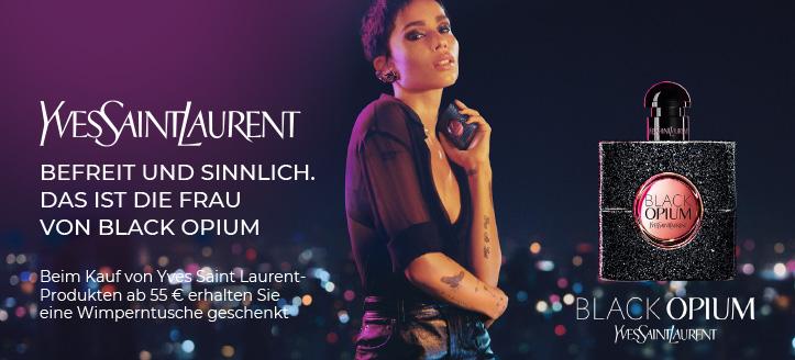 Beim Kauf von Yves Saint Laurent-Produkten ab 55 € erhalten Sie eine Wimperntusche geschenkt